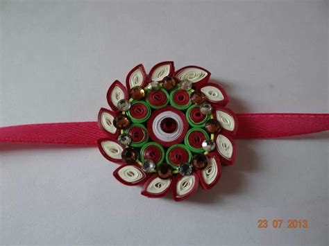 How To Make Rakhi With Paper - 22 best images about rakhi on rakhi tutorials