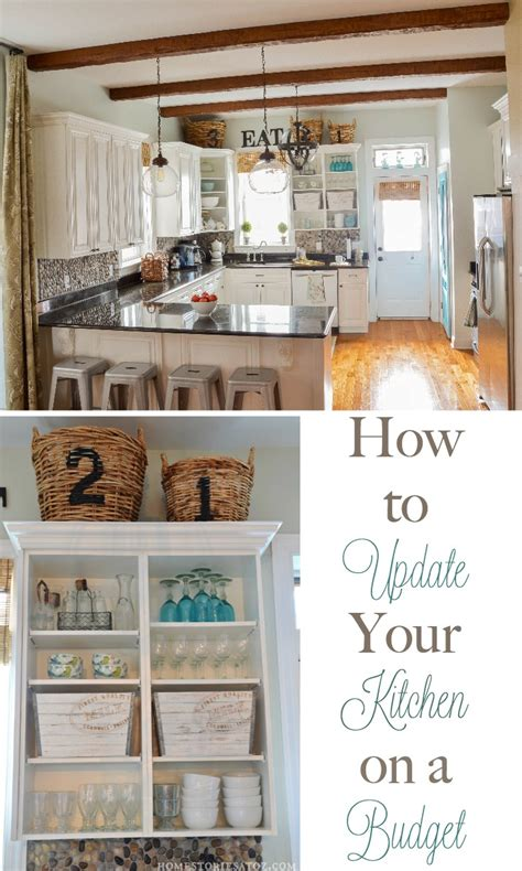 how to upgrade kitchen cabinets on a budget how to update your kitchen on a budget home stories a to z