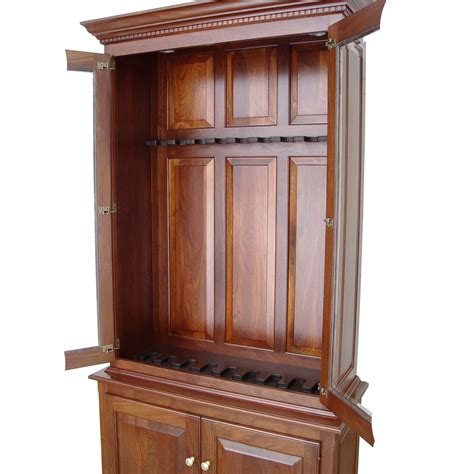 amish woodworking amish woodworking 50515d heritage iii 10 gun cabinet
