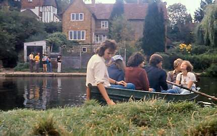row boat hire guildford the pilgrims way 1976 day 7 lingfield to mayfield