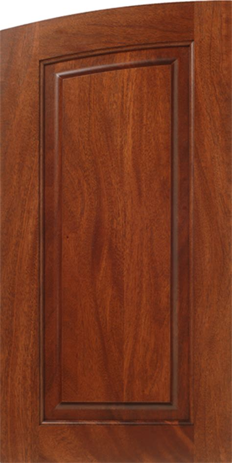Walzcraft Cabinet Doors Genuine Plantation Grown Mahogany Wood Cabinet Door With An Arched Top Walzcraft