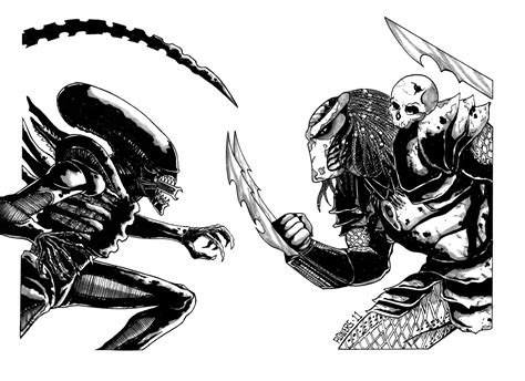 alien vs predator in dave kopecki s march 2011 alien