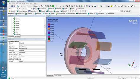 ansys designmodeler tutorial ansys design modeler versi on the spot