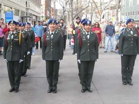 lincoln rotc cadet perform in denver