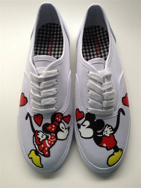 mickey mouse shoes for any size 5 5 13 painted mickey mouse minnie mouse