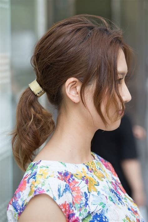 different length ponytails bobs 17 best images about japan hair styles on pinterest