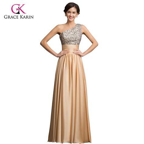 aliexpress com buy one shoulder evening dress grace