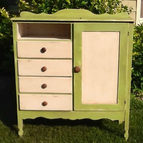shabby apple green wardrobe things i ve made pinterest