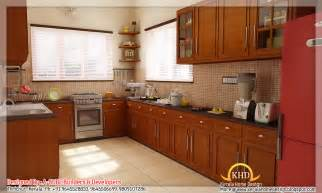 Home Interior Kitchen Design by 3d Interior Renders Kerala Home Design And Floor Plans