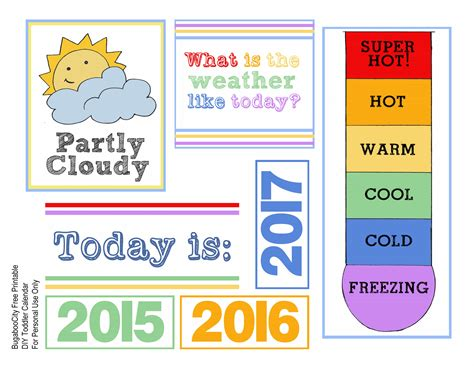 Toddler Calendar Diy Toddler Calender Magnet Board Lots Of Free Printables