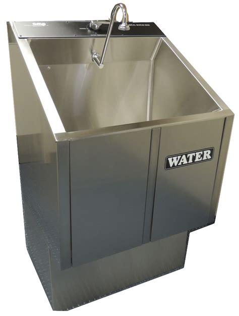 Scrub Sink single bay scrub sink one bay unit saves space