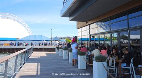 seaport restaurants south boston waterfront   eat