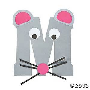 m is for mice letter m craft kit this is so cute to do