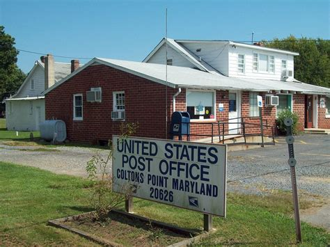 Post Office Park Md by Coltons Point Maryland