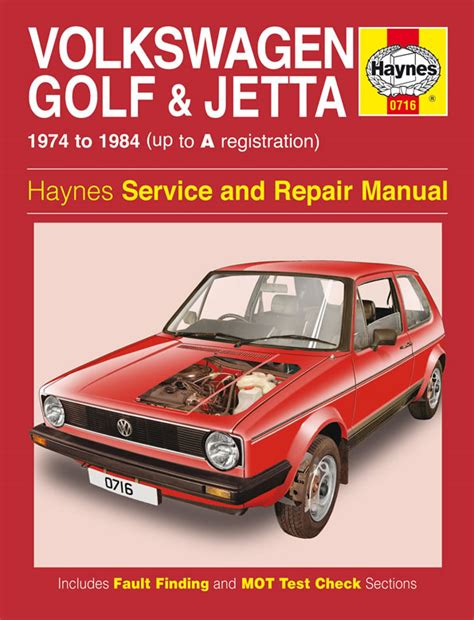 haynes manual vw golf jetta mk 1 petrol 1 1 1 3 1974 1984