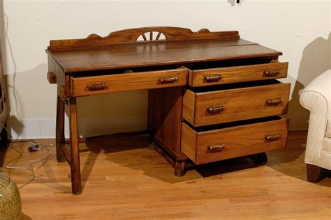 Hickory Desk by Hickory Desk And Chair For Sale At 1stdibs