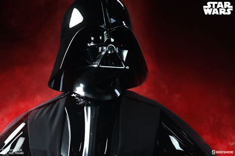 darth vader and wars darth vader size figure by sideshow
