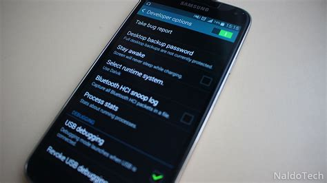 enable developer options usb debugging  android
