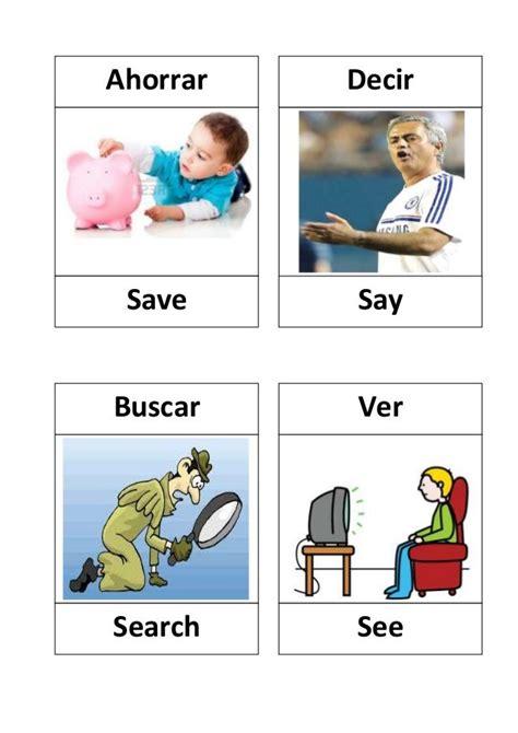 imagenes en ingles vervos verbos en ingles con dibujos verbs lists regular