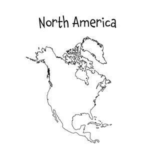 printable maps north america 16 best images about printable maps on pinterest