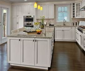 Kitchen Craft Cabinet Doors Painted Kitchen Cabinets In Alabaster Finish Kitchen Craft