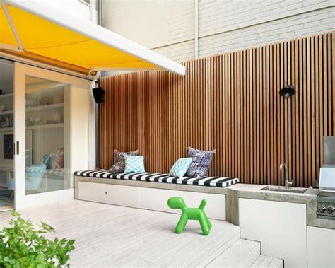 Alfresco Awnings Luigi Rosselli Architects Paddington Terrace House