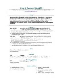 Resumes For Registered Nurses by Registered Resume Sle Philippines