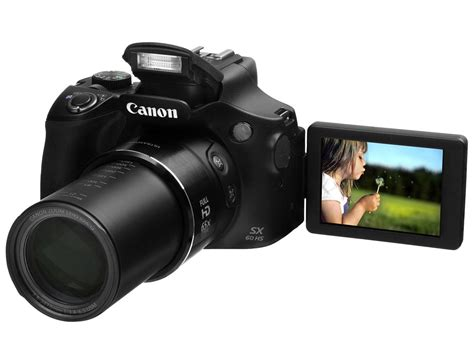 Compact Point & Shoot   Canon PowerShot SX60 HS IMAGE STABILIZER   ULTRASONIC   65X OPTICAL