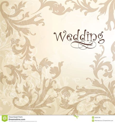 backdrop design for wedding invitation wedding elegant background for design royalty free stock