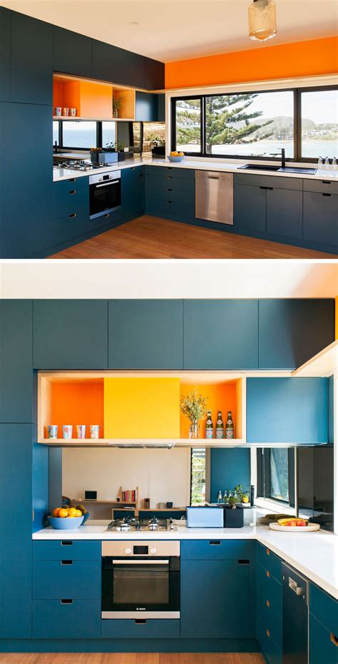 blue kitchen design kitchen design idea deep blue kitchens contemporist