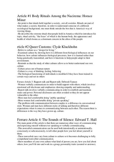 Ritual Among The Nacirema Essay by Article Ritual Among The Nacirema Personal Brand Statement Exles