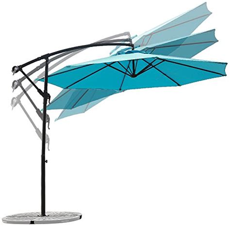 C Hopetree 10 Foot Offset Cantilever Patio Umbrella