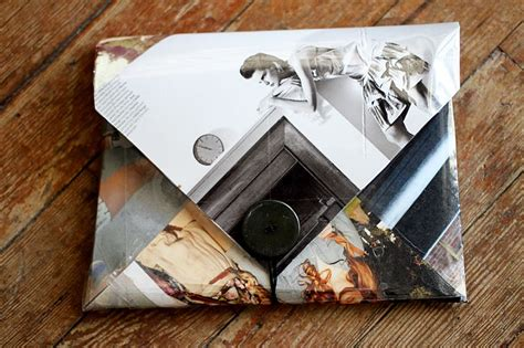 How To Make Paper Out Of Magazines - magazine clutch diy a beautiful mess
