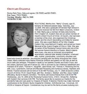 free obituary templates free obituary templates 13 free word excel pdf format
