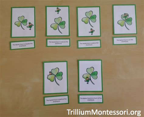printable montessori st game paper preschool printables for march and st patrick s day