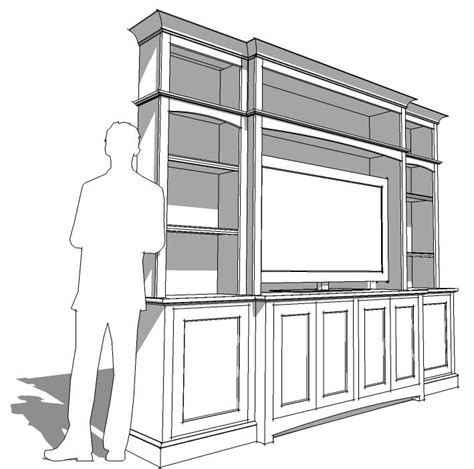 Kitchen Designing Tool by Sketchup 3d Modeling For Woodworkers