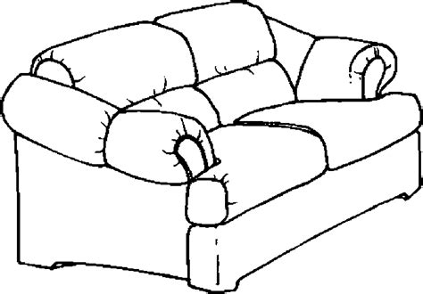 disegni divani sofa furniture 187 coloring pages