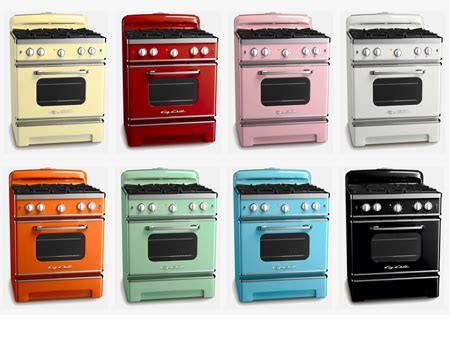 appliance colors big chill from retro kitchen modern home decor