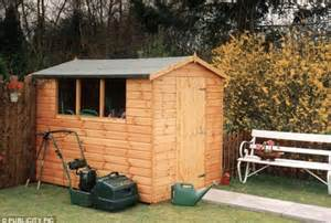 He Shed by Postman Andrew Salmon Spared After Locking In