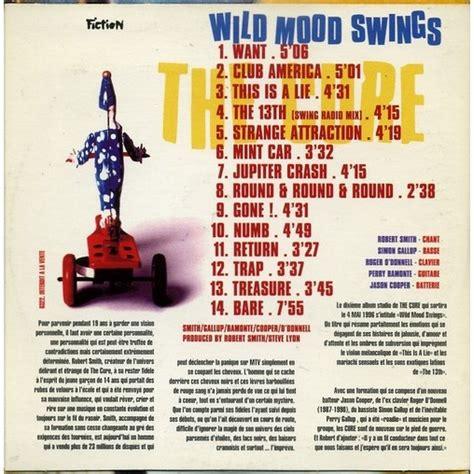 wild mood swings cure wild mood swings cardsleeve hors commerce cd for