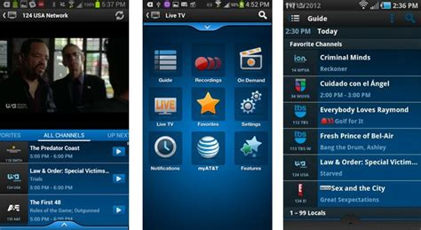 att uverse apps for android u verse live tv reaches android including tablets