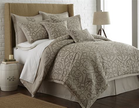 8 piece jacquard comforter set king