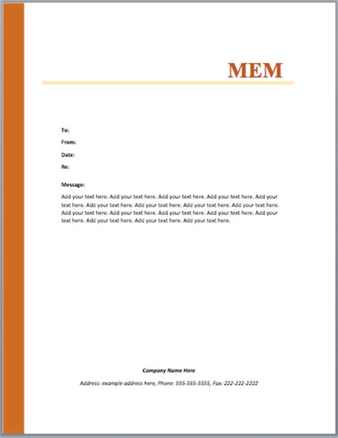 Memo Word Templates Microsoft Word Templates Microsoft Word Memorandum Template
