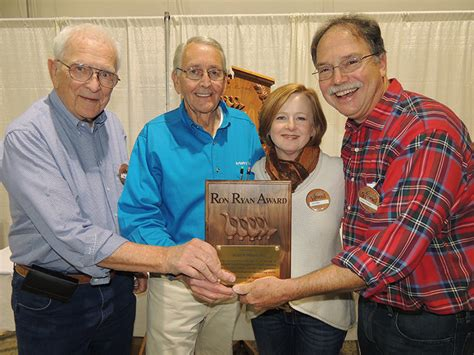 american woodworking show dayton carvers guild honors american woodshop s