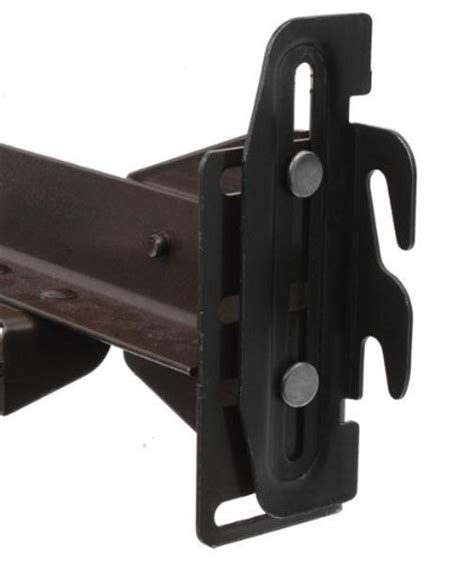 Bed Frame Hook Plates 35 Hook Plate Conversion Adapter Kit For Using A Bolt On Frame With A Hook On Headboard Pack Of 4