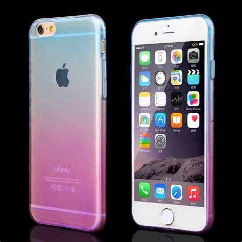 Iphone Iphone 5 5s Olzon Cover promotions phone cases for apple iphone 5 5s transparent gradient color design tpu