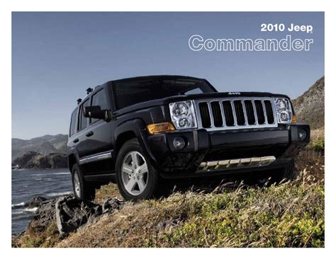 how it works cars 2010 jeep commander head up display 2010 jeep commander brochure usa by ted sluymer issuu