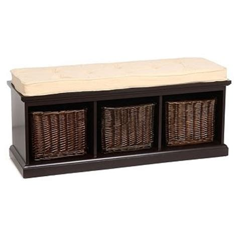 hall storage bench with baskets storage bench with baskets woodworking projects plans