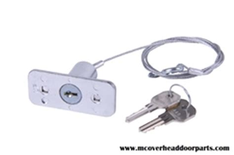 Mc Overhead Door Parts Garage Door Opener Keyed Disconn 226 Ect Lock With 2