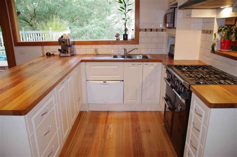 Kitchen Benchtop Ideas by Timber Kitchen Benchtops Brisbane Buywood Furniture